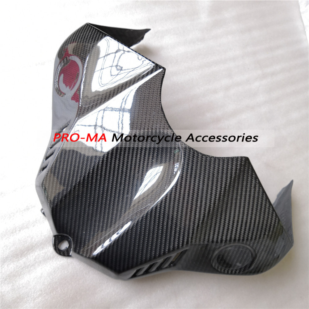 Motorcycle Fairing Fuel Tank Cover in carbon fiber For Yamaha YZF R1 2015 2016 Twill