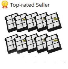 ใหม่ 10PCS ตัวกรอง HEPA สำหรับ iRobot Roomba 800 900 Series 870 880 980 โพสต์ฟรี