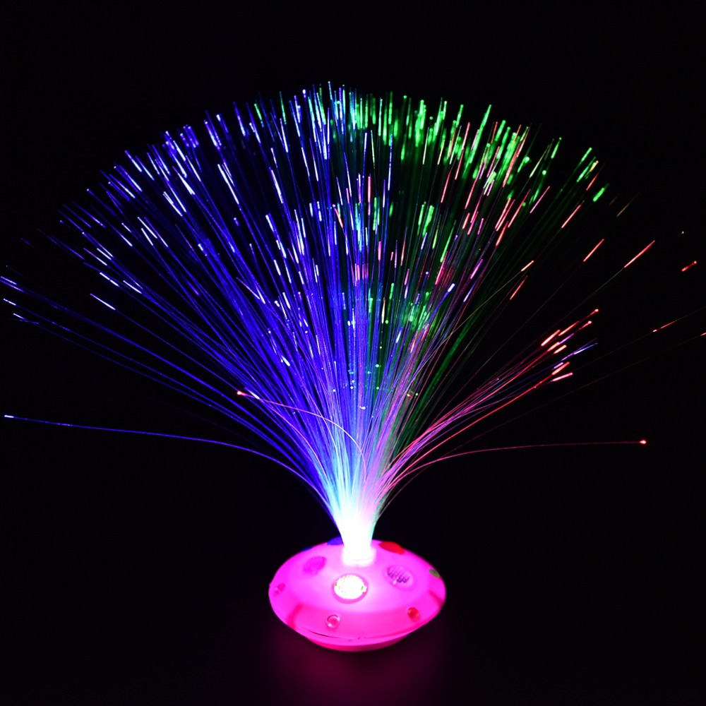 Creative Nightlight Lamp Bright Glowing Light Novelty Color Changing LED Braid Optic Fiber Light Home Holiday Party DecorationCreative Nightlight Lamp Bright Glowing Light Novelty Color Changing LED Braid Optic Fiber Light Home Holiday Party Decoration