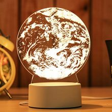Soccer Guitar World Cup 3D LED Book lights Creative Ambient Light Color Lighting Luminaria Home Desk lamp Children Gift(China)