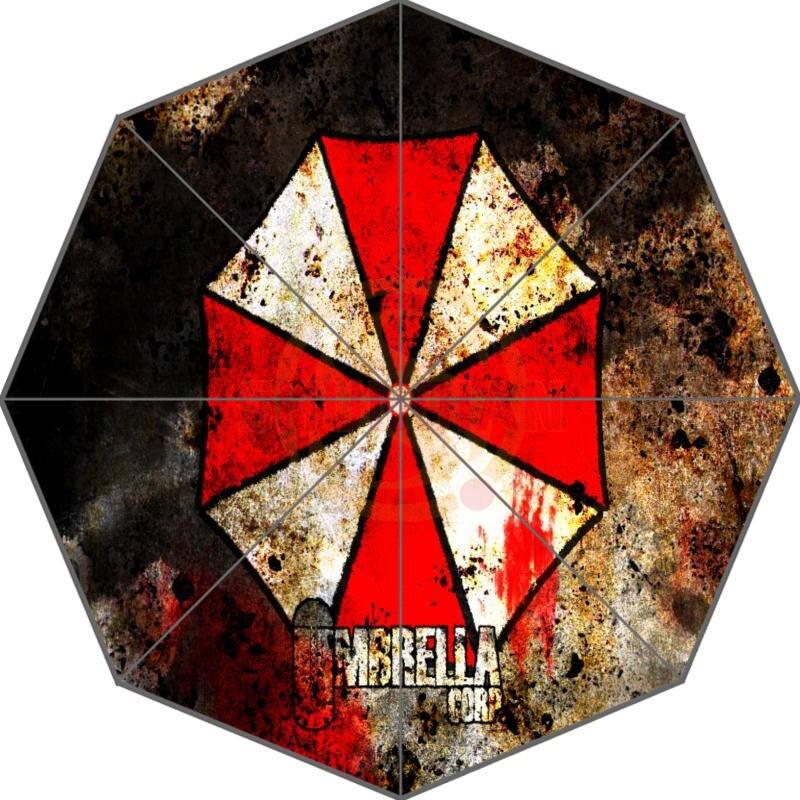 Resident Evil Custom Umbrella Fashion Design Umbrella For Man And Women High Quality Free Shipping Hot Sale LUQI -#600