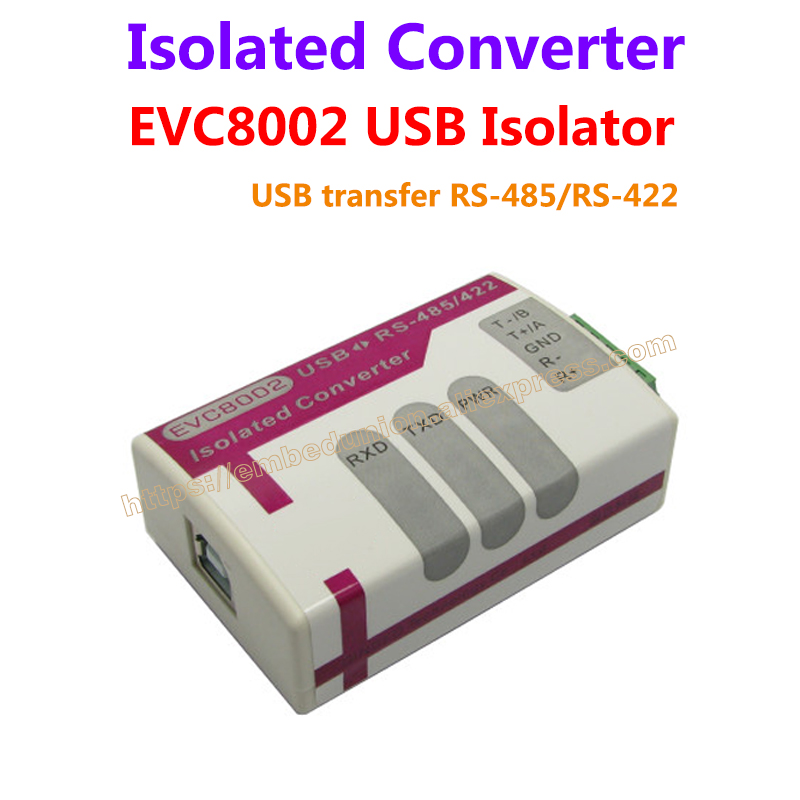 USB to RS-485/RS-422 magnetic coupling isolation converter Lightning protection industrial grade FT232 EVC8002 samsung rs 552 nruasl