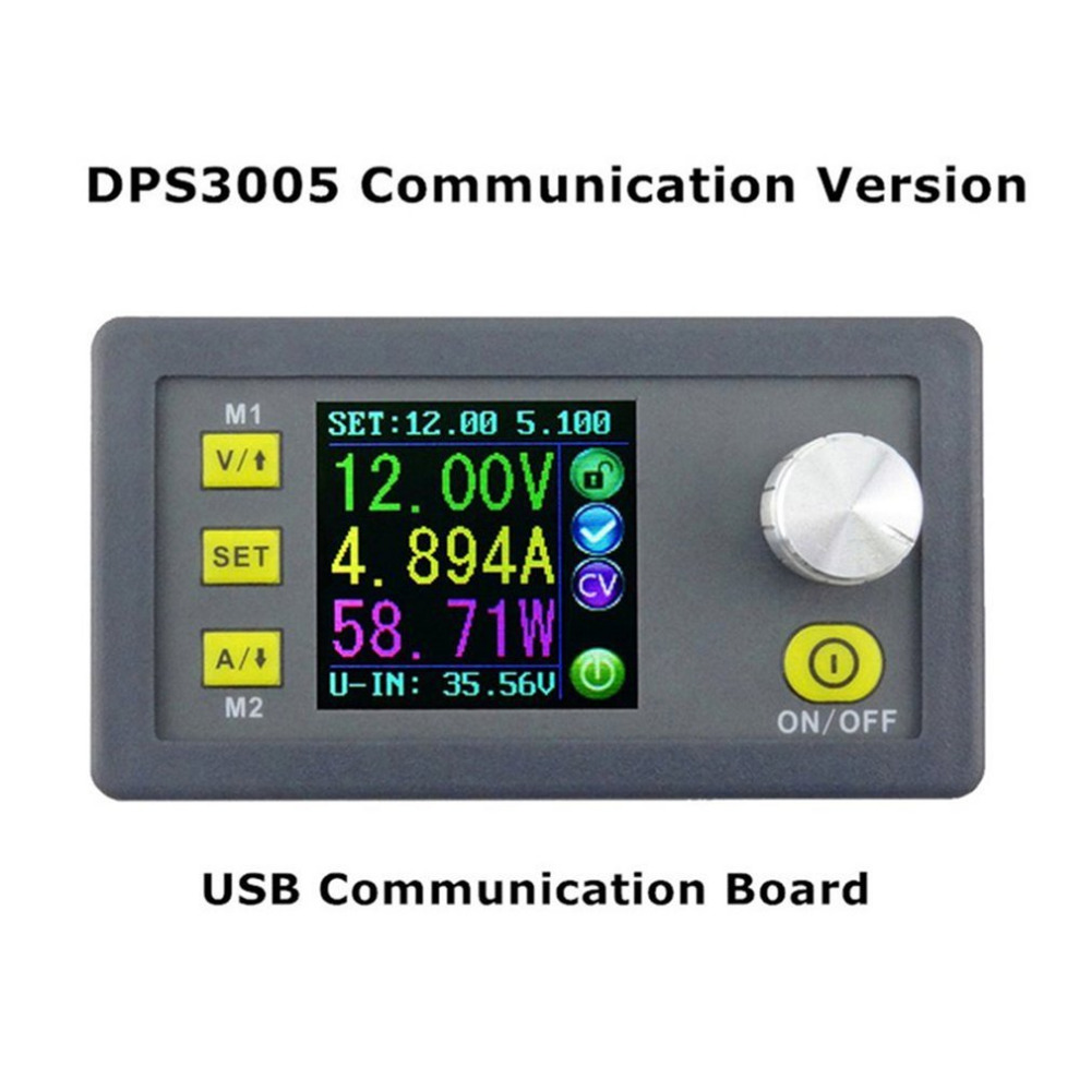 1pc DPS3005 Voltage Converter LCD Voltmeter Communication Function Constant Voltage Current Step-down Adjustable DC Power Supply 30pcs lot by dhl or fedex dps3005 communication function step down buck voltage converter lcd voltmeter 40%off