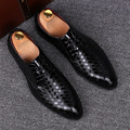 mens fashion British style office wedding comfort soft leather shoes breathable spring autumn flats oxfords shoe gentleman lace