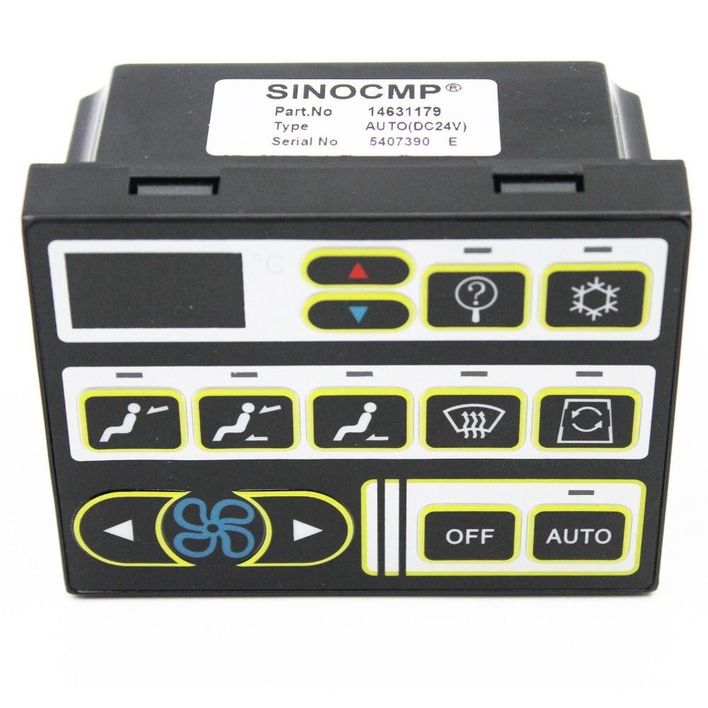 EC60 EC60C Air Conditioner Control Panel VOE14637623 14020333 For Volvo Excavator 6 month warranty
