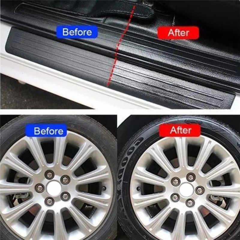 1 pièces 50/120ml outil de nettoyage intérieur de voiture multifonctionnel cirage pneu-roue dédié à la remise à neuf nettoyant voiture accessoires TSLM1