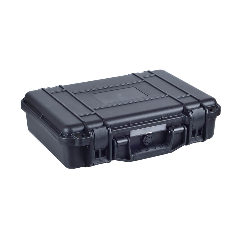 Shockproof precision instrument plastic tool box with foam