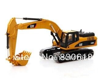 1:50 DieCast Norscot caterpillar CAT 330D L Hydraulic Excavator Metal Track Construction vehicles toy