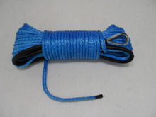 6mm*30m winch line for atv/utv winches,cable winch for auto parts,amsteel winch rope