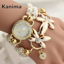 2017 KANIMA Top Brand Luxury Famous Quartz Watch Women Watches Ladies wristwatches Female Clock Montre Femme Relogios Feminino