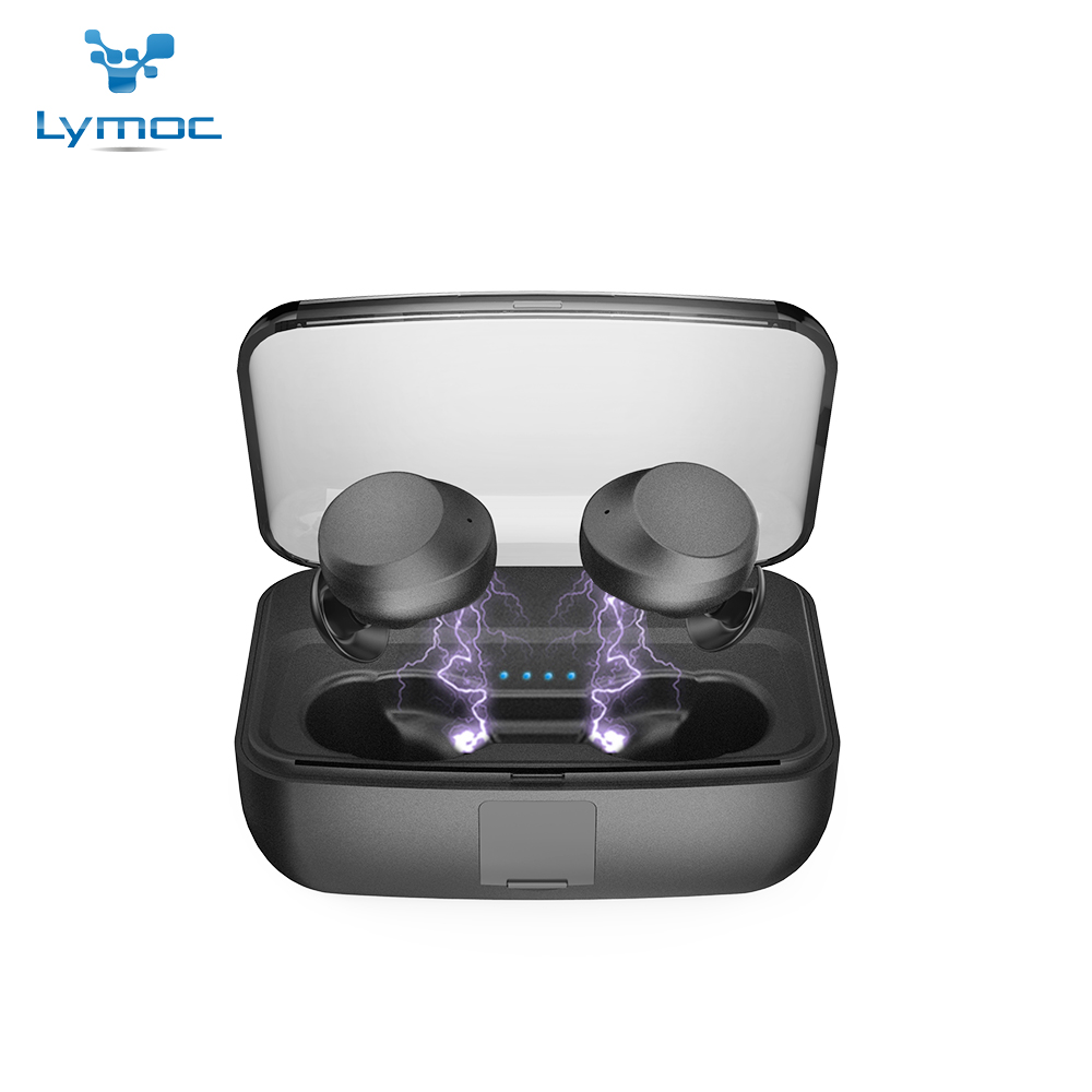 Bluetooth Earphones & Headphones Bluetooth 5.0 Ipx8 Waterproof Touch Control Hifi Earphones With Mic Tws Wireless Earbuds Stereo For Phone With Charge Base Yz205