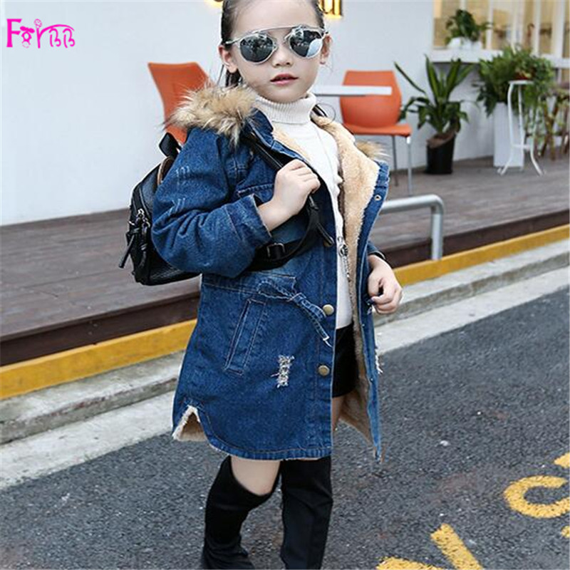 Kids Children's Clothing Outerwear Coats Jackets SHwxyexc denim jacket girls coat children winter jackets girls clothing