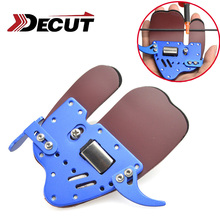 DECUT 1 Piece Archery Finger Guard Protect LH And RH For Choice Glove Tab Protection Accessory