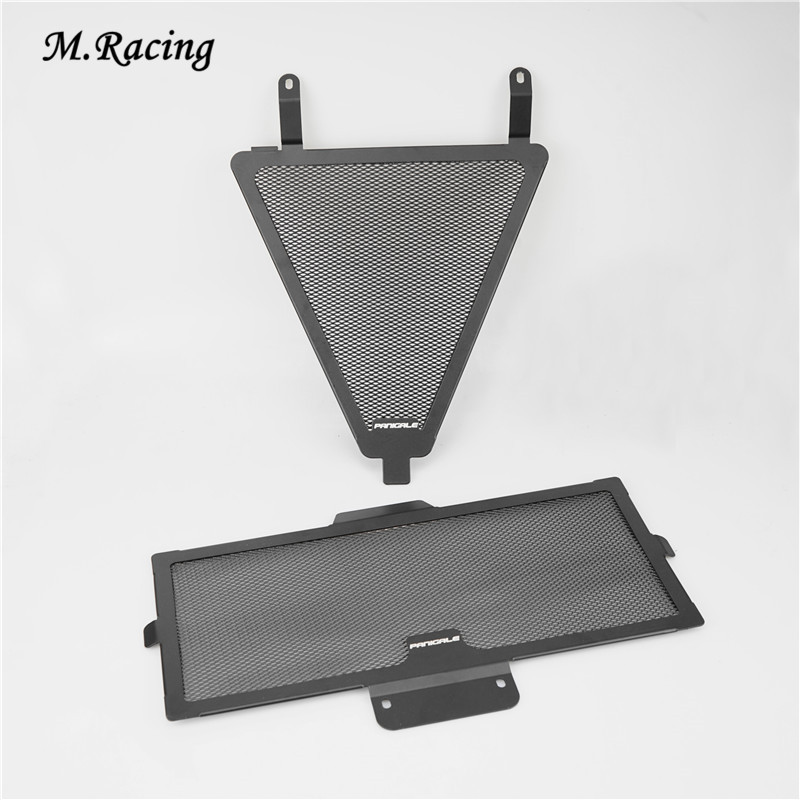 Motorcycle Radiator Guard Protection Grill for Ducati Panigale 1299, 1199, 959, 899