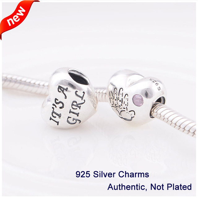 Fits For Pandora Charms Bracelets Baby Boy Beads 925 Sterling Silver Jewelry Free Shipping