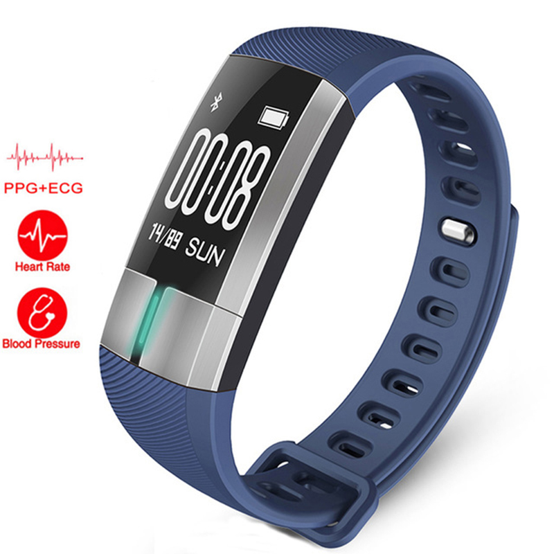 все цены на G20 PPG ECG heart rate monitor watch Blood pressure sport Fitness watch Tracker Pulsometro PK Xiomi mi band 2 5 for android IOS онлайн