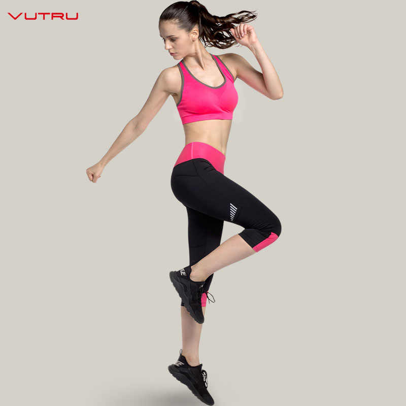 be8e47d2619 2018 Women Yoga Suit Fitness Sets Vest GYM Clothing Sexy Cropped Top+ Leggings Pants Running