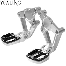 Motorcycle Folding Rear Footrest Foot Pegs Passenger Brake Pedal Step Tips Raise pedal For HONDA X ADV X-ADV 750 2017 2018 new motorcycle foot pegs for yamaha xmax 300 2017 2018 x max 250 300 footrest step pedal foot plate blue gold black red titanium
