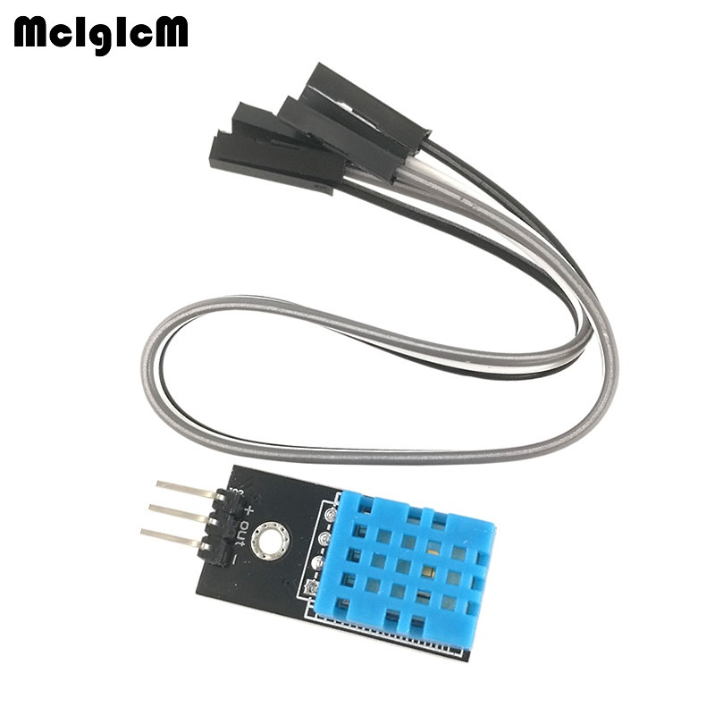MCIGICM New digital Temperature and Relative Humidity Sensor DHT11 Module with Cable
