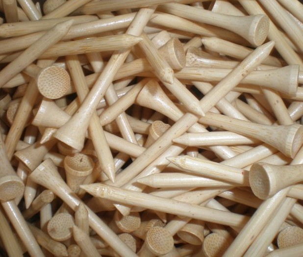 Best Selling! bamboo golf tee Golf needle 100Pcs/pack 70mm Golf Tees Free Shipping