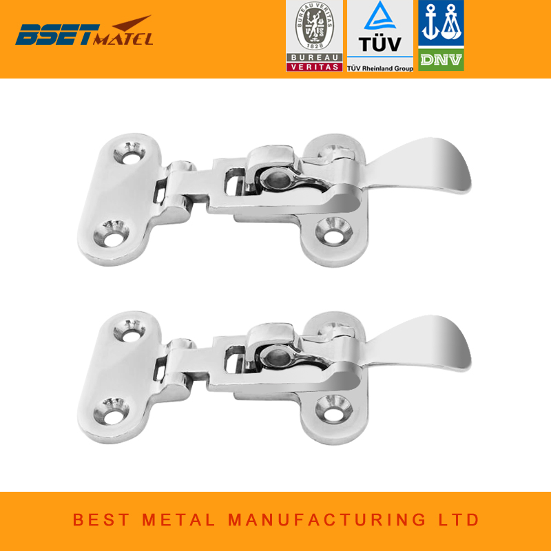 The Best 1pcs 316 Stainless Steel Marine Boat Anti-rattle Locker Hatch Latch Clamp Fastener 70mm New Professional Marine Hardware Various Styles Boat Parts & Accessories Atv,rv,boat & Other Vehicle