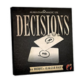 Decisions(DVD and Gimmick) - Magic Tricks,Mentalism,Close Up,Illusions,Accessories,Comedy,2016 New