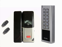 D4 Free Shipping Secukey Anti vandal Wireless Door Access Lock Kit With 4~8 Digits PIN 125KHz EM Card