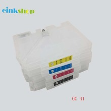 1 set empty refillable ink cartridge for Ricoh GC41