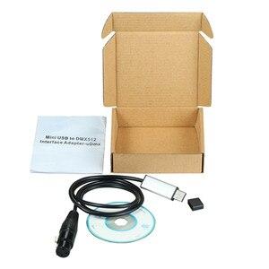 Image 3 - YIYANG USB to DMX 인터페이스 어댑터 케이블 110cm 길이 무대 조명 PC DMX512 컨트롤러 조광기 DMX USB 신호 변환