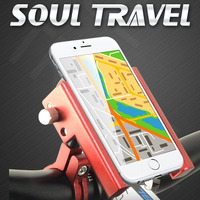 Bicycles MTB Bicycle Universal Motorcycle Phone Holder Bicycle Handlebar Rack Mount Holder For Iphone Mobile Phone