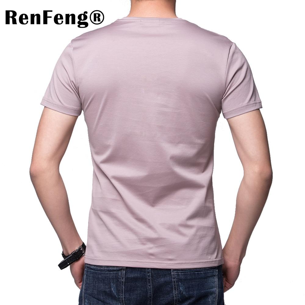 Solid color 100% Mercerized Cotton T Shirt Mens Black White T-shirts 2018 Summer Skateboard Tee Boy Hip hop Skate Tshirt Tops (3)