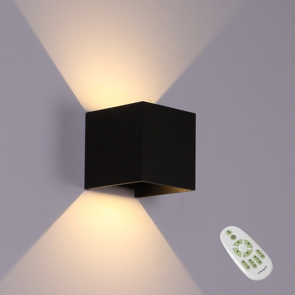 Back To Search Resultslights & Lighting Led Indoor Wall Lamps Led Indoor Wall Lamps Surface Mounted Cube Led Wall Light Metal Case Cob Led Chip Up And Down Wall Lighting Fixture Ac85-265v Reliable Performance