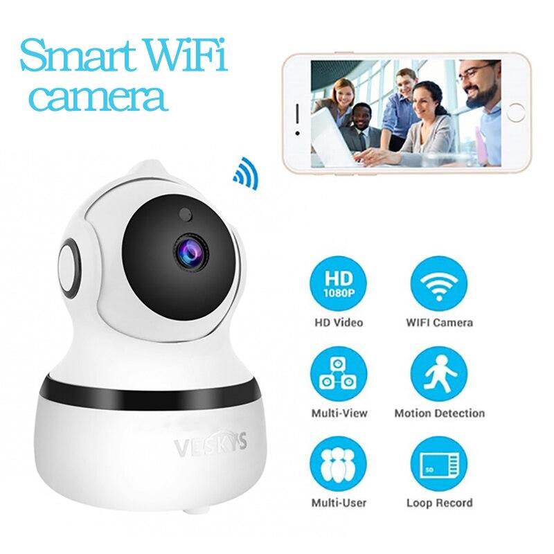 Ev Güvenlik IP Kamera Kablosuz Akıllı WiFi Kamera WI FI Ses Kayıt Gözetim bebek izleme monitörü HD Mini güvenlik kamerası motion|Gözetim Kameraları|Güvenlik ve Koruma - title=