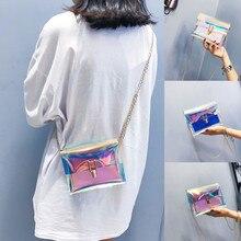 Fashion Women Beach Bag 2019 Transparent Crossbody Bags Messenger Shoulder