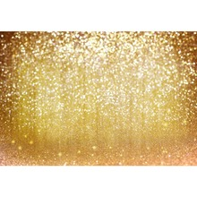 Laeacco Gradient Golden Starlike Light Bokeh Baby Children Scenic Photography Background Photographic Backdrops For Photo Studio