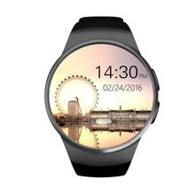 Genuine KW18 Bluetooth smart watch full screen Support SIM TF Card font b Smartwatch b