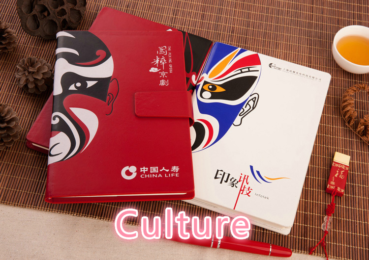 Ancient Ways Notebook Peking Opera Notepad Imitate Skin In National Notebook Peking Opera Chinese Style CESHI-2 8 pieces set china postage used stamps 1980 t 45 peking opera facebook