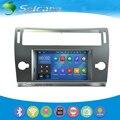 Seicane Touchscreen HD DVD Player para 2004-2010 Peugeot CITROEN C4 Android 5.1.1 Rádio Sistema de Navegação GPS com Bluetooth wi-fi