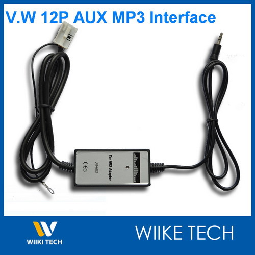 Car MP3 Player Radio Interface Aux in Adapter For V.W RCD ...