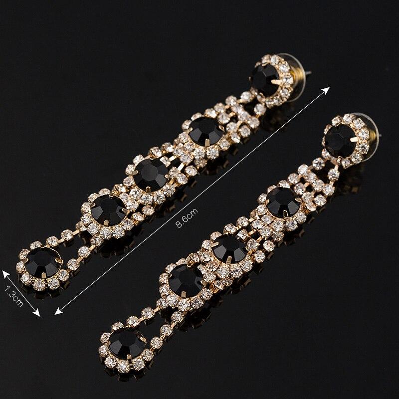 YFJEWE Chegou Venda Quente grandes brincos para mulher moda - Bijuterias - Foto 3
