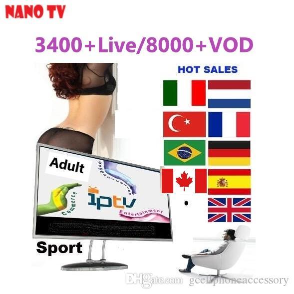 1 Jaar Iptv Code Abonnement Voor Apk Leadcooll Android Tv Box Nano Tv Voldoende Aanbod