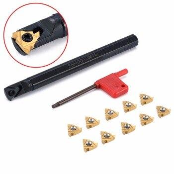 1 pc SNR0013M16 uchwyt na narzędzia wytaczadło + 10 sztuk wkładka z kluczem do tokarki CNC do toczenia gwintów narzędzia
