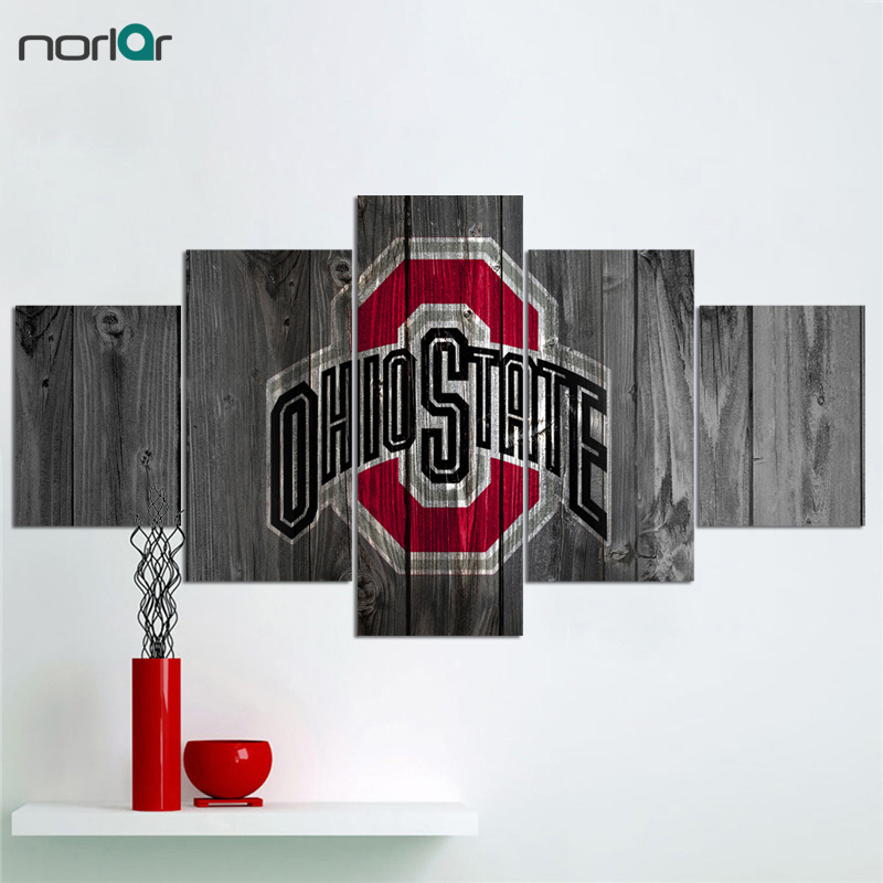 Ohio State Wall Art aliexpress : buy limited edition contemporary giclee print the