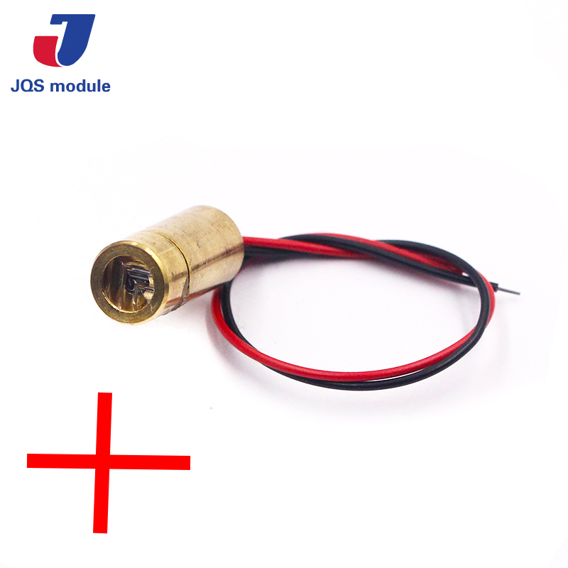 650nm 9mm 3V 50mW Laser Cross Diode Module Red Copper Head 5mw 650nm laser diode module different sizes for choice copper or aliminum