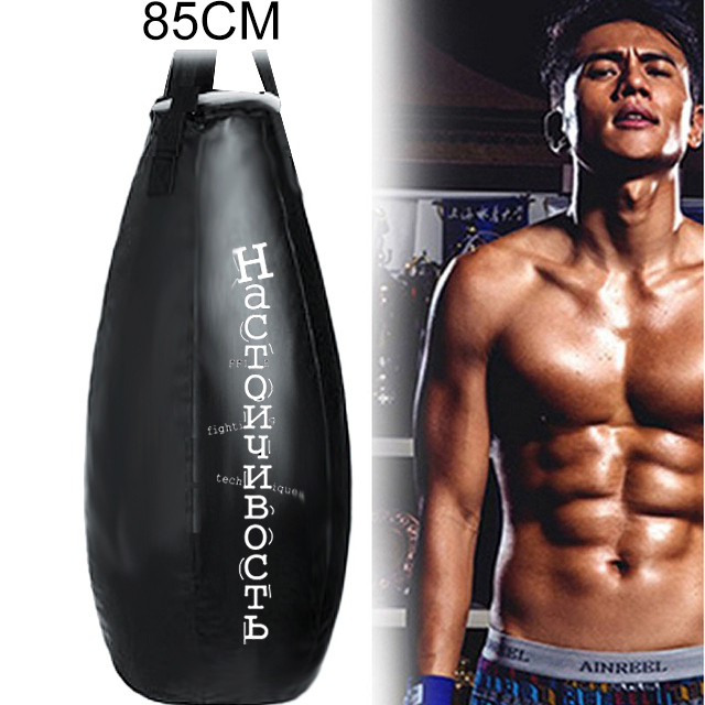 Empty Sandbag Kick Boxing Bag 85cm Training Fitness Punching Bag Saco De Pancada Boxeo Hook Hanging