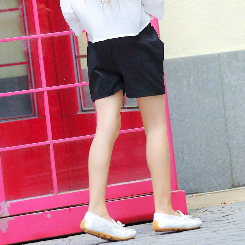 82b53bc63ed Aliexpress.com   Buy Girl Children Summer Shorts Pants Fashion Cute Cartoon  Black Girls Casual Pants Zipper Shorts For Teen Girls 12 13 14 15Y FP007  from ...
