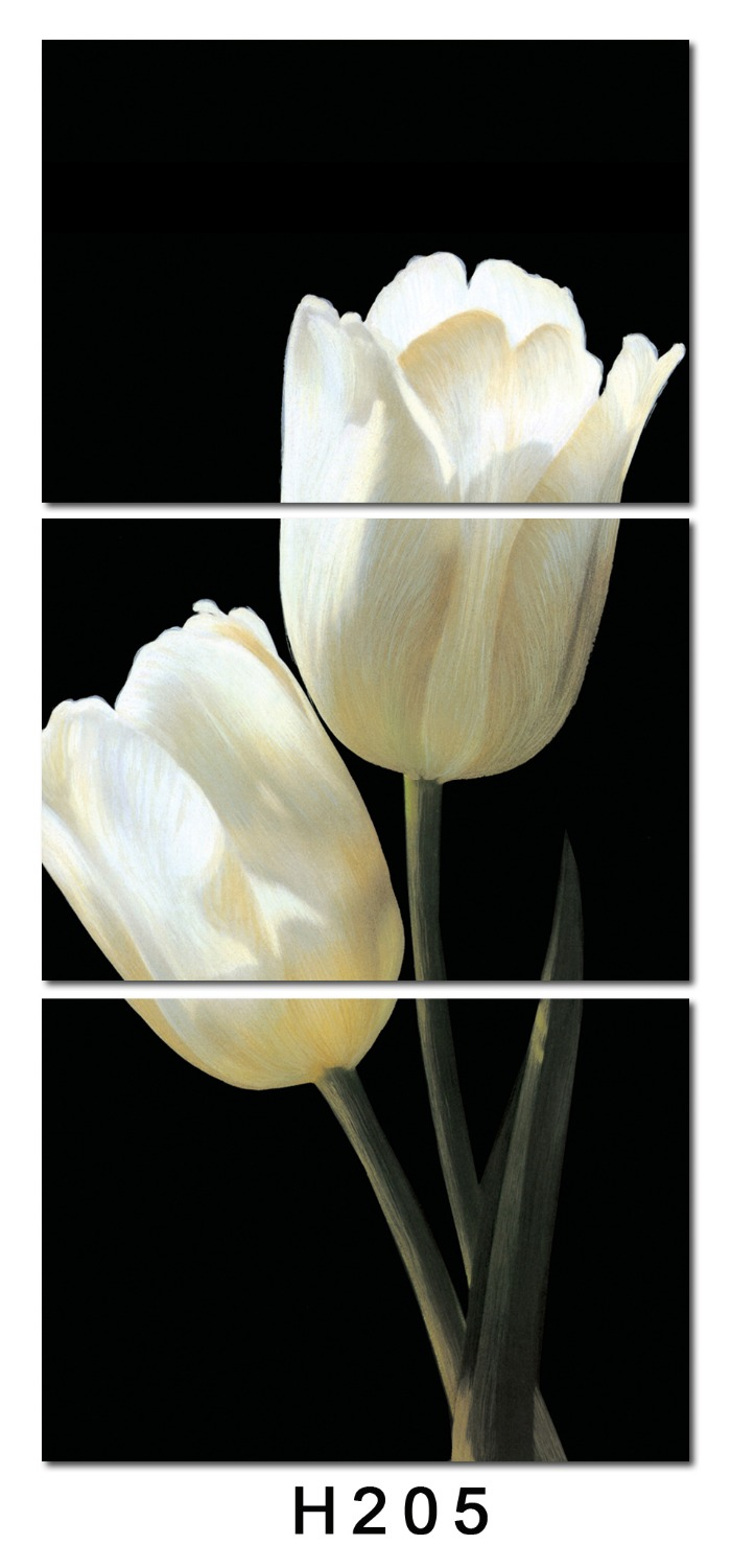 Aliexpress buy no framepicture beautiful tulip flower 3 aliexpress buy no framepicture beautiful tulip flower 3 panelsset hd canvas print painting artwork wall art picture canvas print from reliable 3 izmirmasajfo