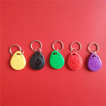 5Pcs/Lot RFID ID Key Card Tags Keyfobs Token TAG Keychain 125KHZ TK4100 Read Only