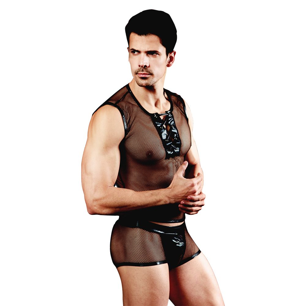 Hot Erotic Men Sexy Waiter Outfit Cosplay костюмі Men Maid - Костюмдер - фото 2