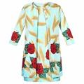 Ropa de los niños ropa de las muchachas fijaron 2017 conjunto de la marca fille de vestuario para los niños que arropan muchachas de la flor trajes de chaqueta + dress